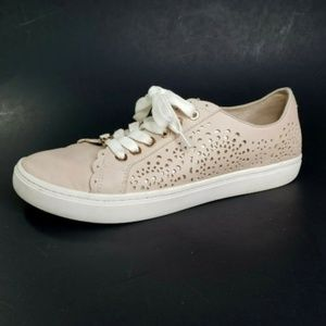Liz Claiborne Sneakers Winslow Metallic Cut Outs